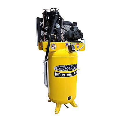 EMAX 5 HP 80 gal. Single Phase Plus Silent Compressor, ESP05V080I1