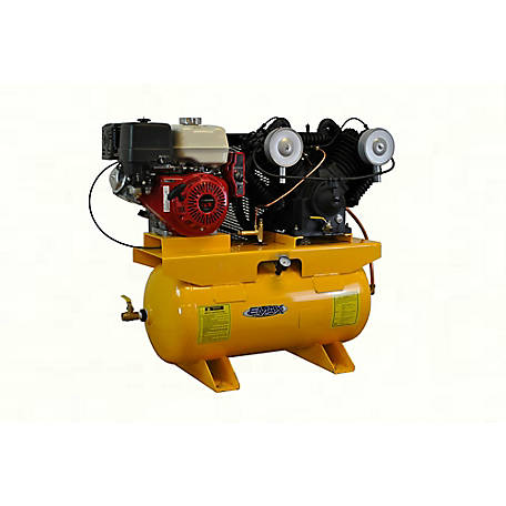 EMAX 13 HP 30 gal. V4 Gas Air Compressor, EGES1330V4