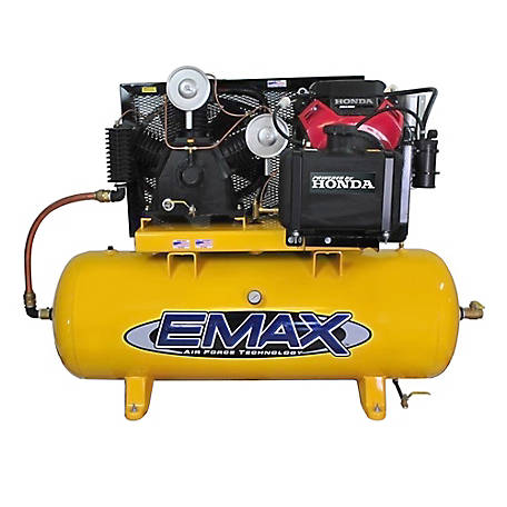 EMAX 24 HP 120 gal. Honda Gas Air Compressor, EGES24120T