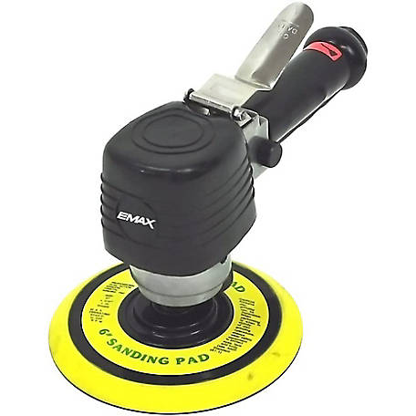 Airbase Industries 6 CFM 6 Dual Action Air Orbital Sander, EATDS60S1P