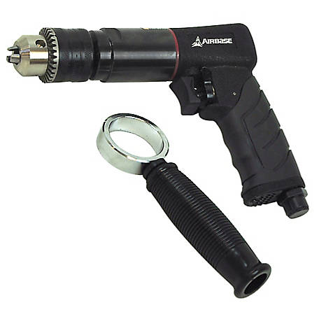 Airbase Industries 6 CFM 1/2 Reversible Air Drill, EATDR05S1P