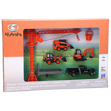 Kubota Construction Set with Crane, SS-33565A