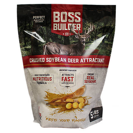 Boss Buck Rosted Soy Bean, 5 lb. Attractant, BB-BLDR-RSOY-5LB