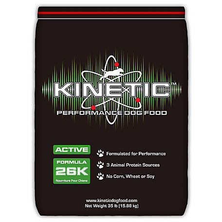 Kinetic Performance Dog Food Active 26K, 35 lb.
