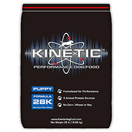 Kinetic Performance Dog Food Puppy 28K, 43900, 35 lb.