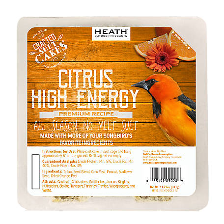 Heath Outdoor Products Heath Premium Craft Cake Citrus High Energy, 11.75 oz.
