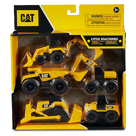 CAT Little Machines, 5 Pack, 82150
