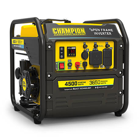 Champion Power Equipment 4000 Watt Digital Hybrid Open Frame Inverter Generator, 100892