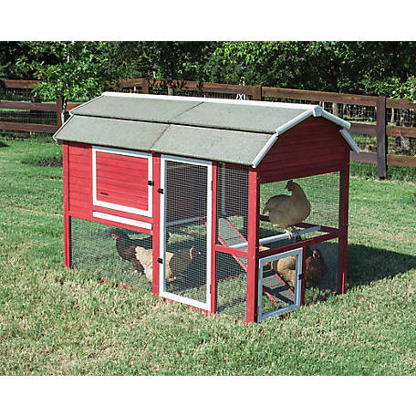 Precision Pet Products Old Red Barn II Coop, 7029191