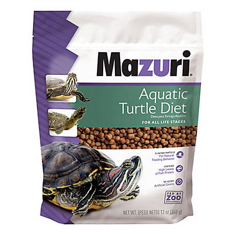 Mazuri Aqua Turtle Diet, 12 oz.