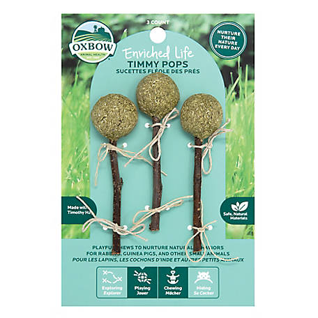 Oxbow Animal Health Enriched Life Timmy Pops, 10702