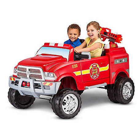 Kid Trax 12V Dodge Ram 3500 Fire Truck, KT1189