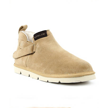 Superlamb Real Sheepskin and Suede Ongi Chukka Boot, ONGIBT19