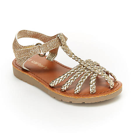 Carter's Girls' Tigris Fisherman Sandal, CS20X02B