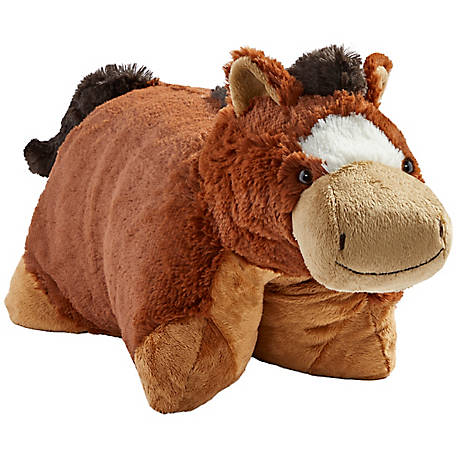 Pillow Pets Signature Sir Horse Stuffed Animal Plush Toy, 01300062H