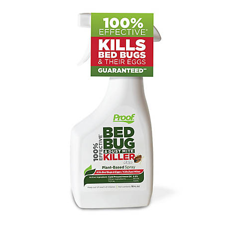 PROOF Bed Bug & Dust Mite Killer 16 oz. Spray, CSPRF016OZ010203