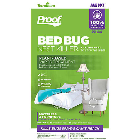 PROOF Bed Bug Nest Killer for Mattress & Furniture, CSVM1001KI010101