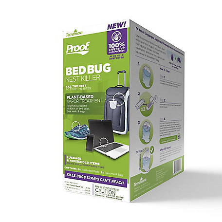 PROOF Bed Bug Nest Killer for Luggage & Household Items, CSVE1001KI010102