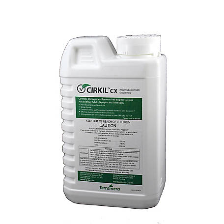 CIRKIL CX Bed Bug Insecticide and Ovicide Concentrate, 32 oz., PRCCX032OZ010101