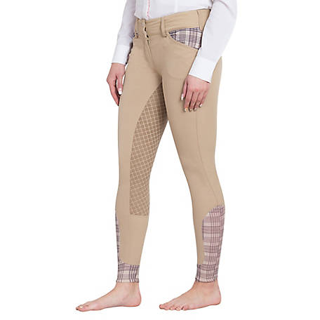 Baker's Women's Pro Silicone Full Seat Breeches, 9616