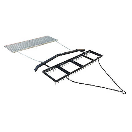 Yard Tuff 6 ft. Spike Drag with Leveling Bar and Drag Mat, YTF-618SDLBDM