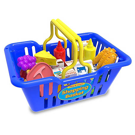 The Learning Journey Play And Learn Shopping Basket, 127063