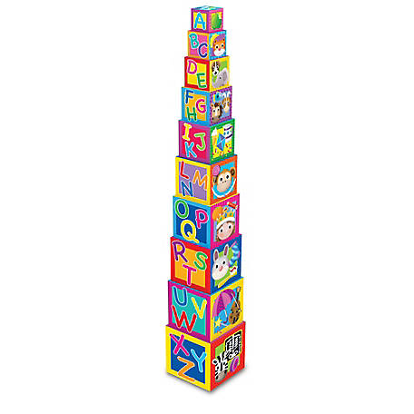 The Learning Journey Stacking Cubes, 100257