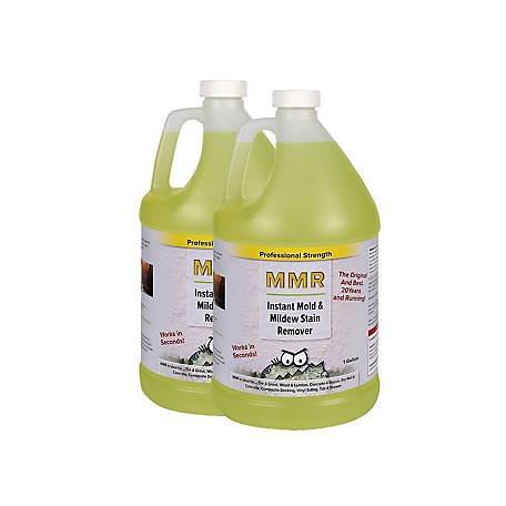 MMR Fast Mold Removal Professional Instant Mold and Mildew Stain Remover, 2 gal., MMR2G