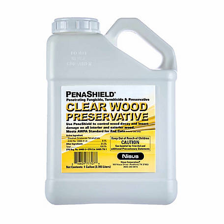 Nisus Penashield Clear Wood Preservative, 1 gal., PSWP1G