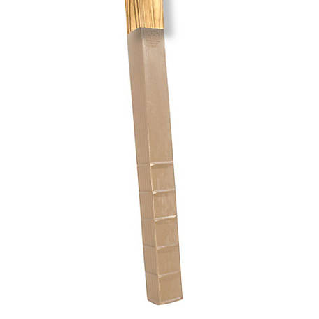 Post Protector 4 in. x 6 in. x 42 in. In-Ground Post Decay Protection, 4642