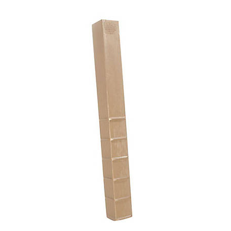 Post Protector 6 in. x 6 in. x 60 in. In-Ground Post Decay Protection, 6660