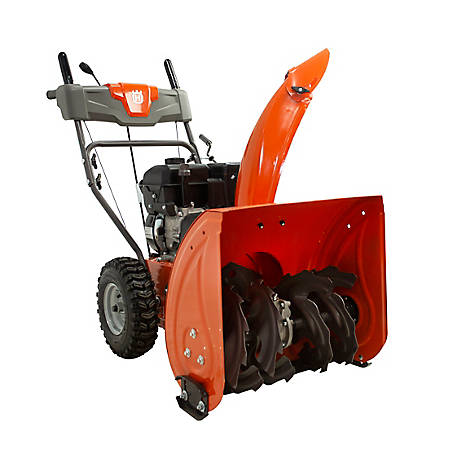 Husqvarna ST 124 24 in. 212CC Two-Stage Gas Snow Blower, 970449301