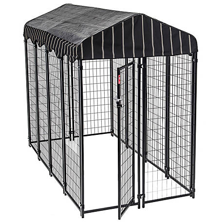 Lucky Dog Outdoor Kennel with Weather Proof Cover, CL 62548