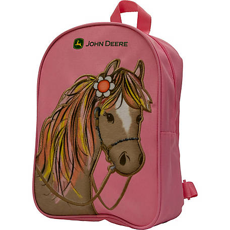 John Deere Toddlers' Girls' Backpack Pony