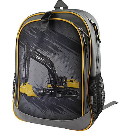John Deere Boys' Excavator Backpack