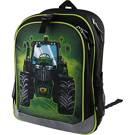 John Deere Boys' Tractor Backpack
