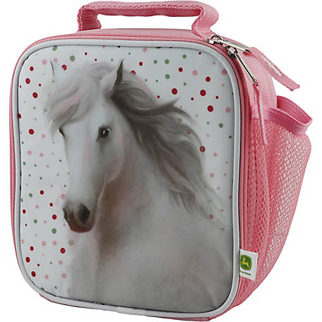 John Deere Girls' Horse Lunchbox
