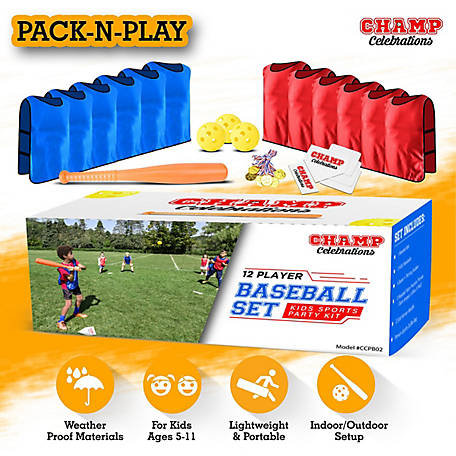 Champ Celebrations All-In-One Baseball Set, CCPB02
