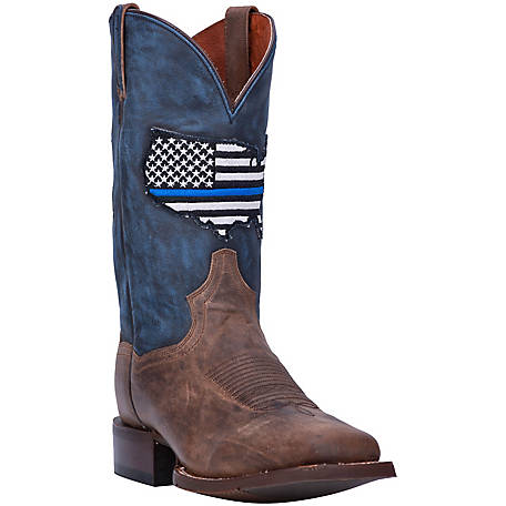 Dan Post Men's Thin Blue Line Boot, DP4515