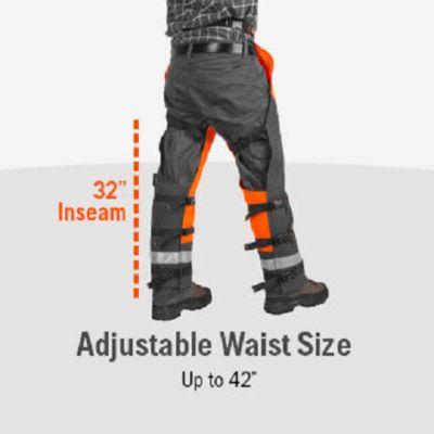 "Genuine Husqvarna 587160703 Functional Frontal Apron Chainsaw Chaps 40-42/"""