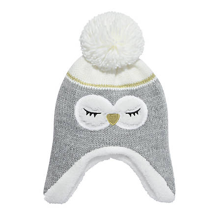 Igloos Youth Critter Flap Cap with Pom