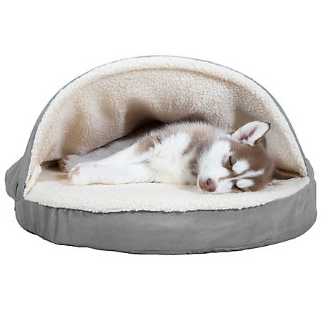 FurHaven 26 in. Snuggery Burrow Bed