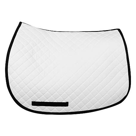 TuffRider Basic All Purpose Saddle Pad with Trim, 100557, 100557-258-01-14-STD