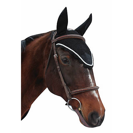 Equine Couture Fly Bonnet with Silver Rope, 110744