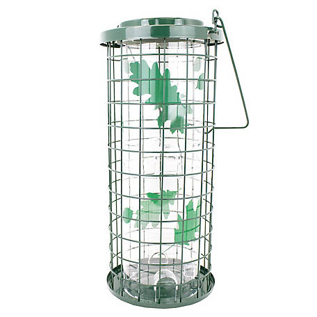 Perky-Pet Squirrel Stumper Green Bird Feeder, 3 lb. Capacity, 114G
