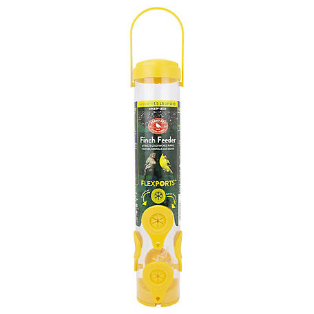 Perky-Pet Finch Feeder, 1.5 lb. Capacity, 481F