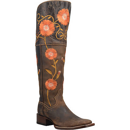 Dan Post Women's Star Flower Boot, DP3795