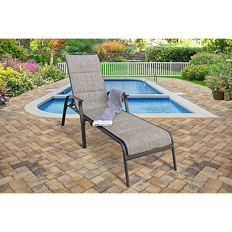 Apollo Outdoor Harrington Single Padded Sling Chaise Lounge Sp I 139nel Bntsc At Tractor Supply Co