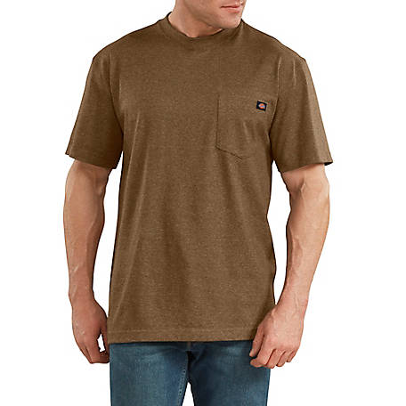 Dickies Men's Short Sleeve Heavyweight Heathered T-Shirt