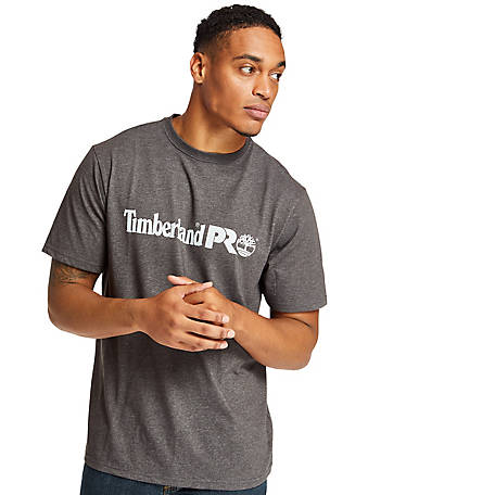 Timberland PRO Men's Base Plate Short-Sleeve T-Shirt with Logo